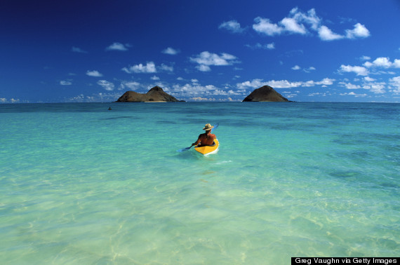 mokulua islands kayak