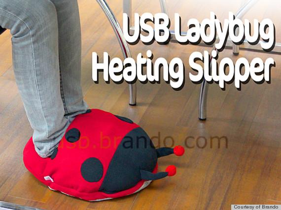 ladybug slipper