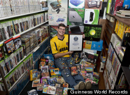 Dream Boyfriend Owns 10,607 Video Games, World Record