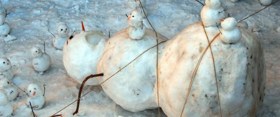 muñecos de nieve originales
