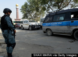 U.S. Embassy In Kabul Attacked On Christmas Day