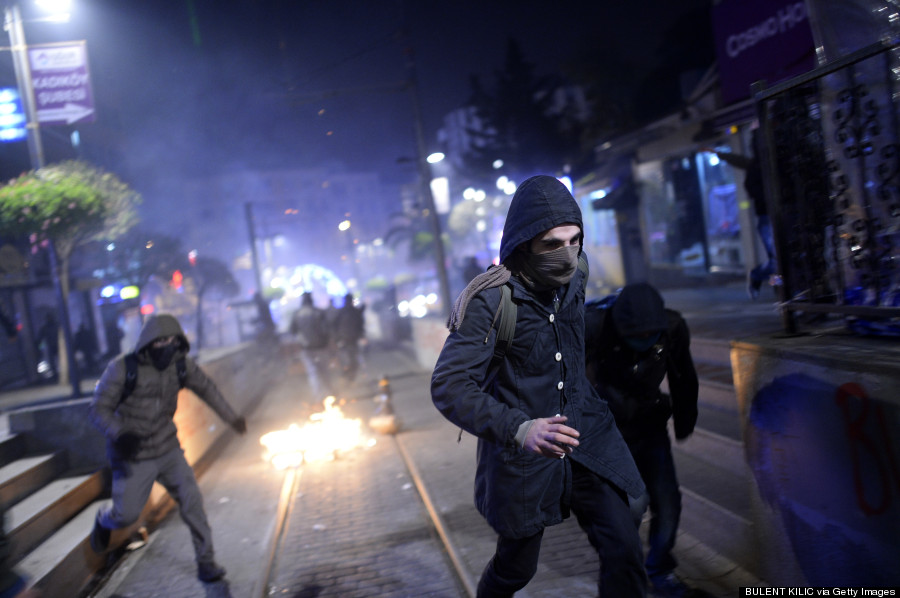riot istanbul