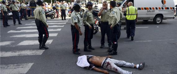venezuela homicide rate