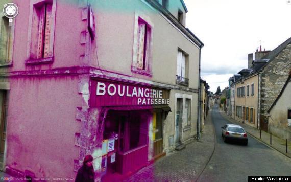 google street view art