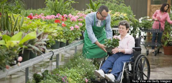 shopping wheelchair