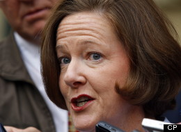 Redford Claims Tory Loss Not Her Fault