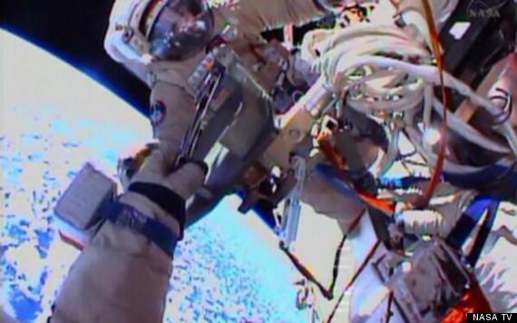 cameras spacewalk