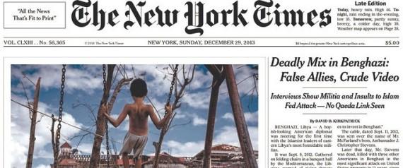NEW YORK TIMES BENGHAZI