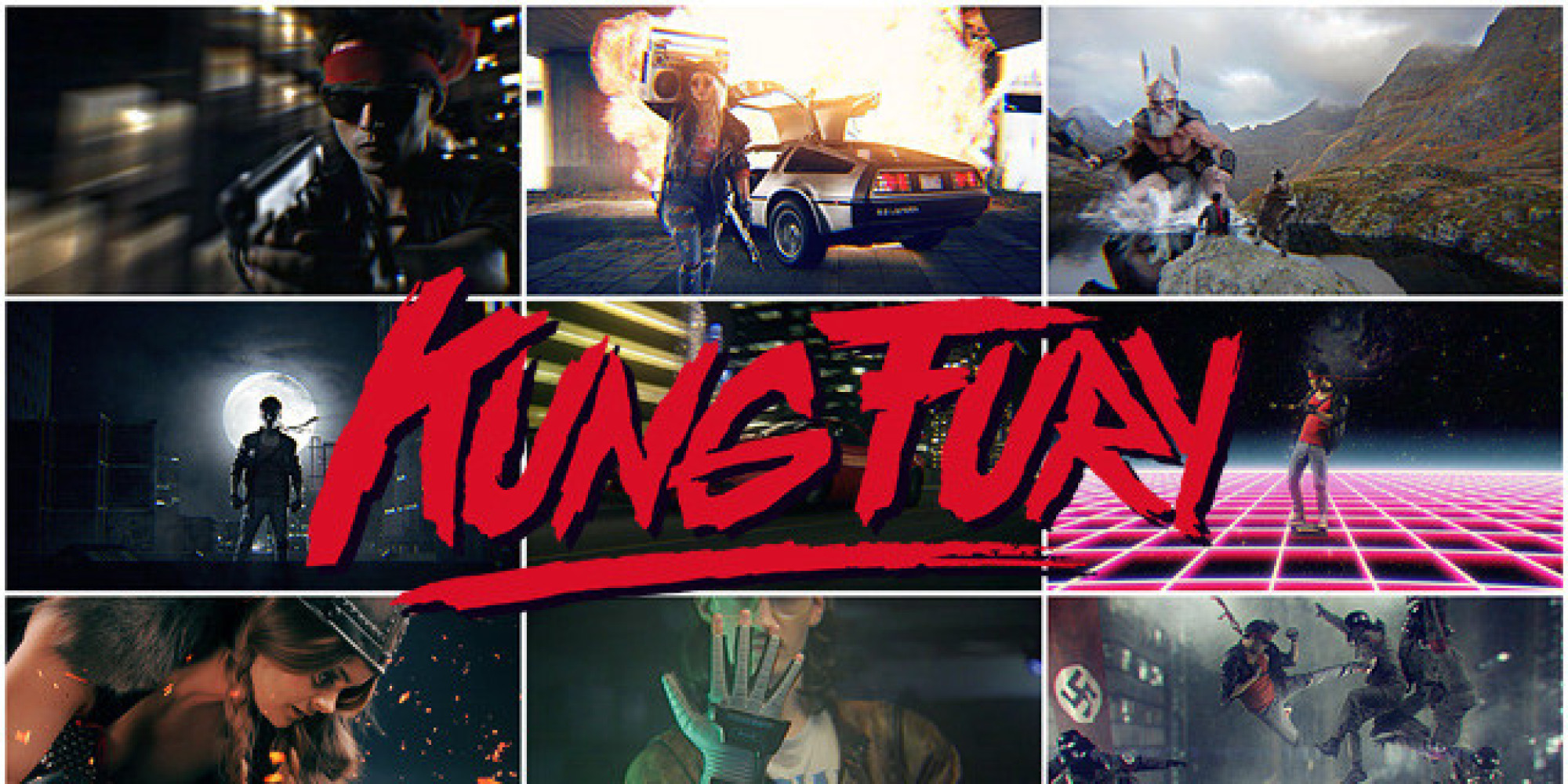 Kung Fury Kung Fury Is The
