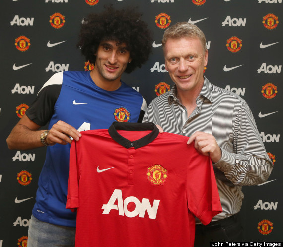 david moyes marouane fellaini