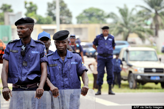 kinshasa police