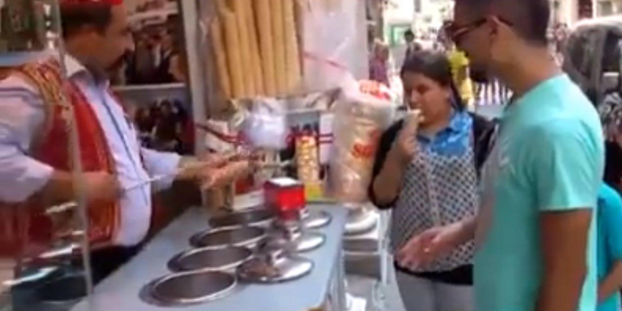 Продавец мороженного порно 15 фотография