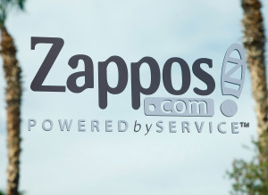 Zappos Sign