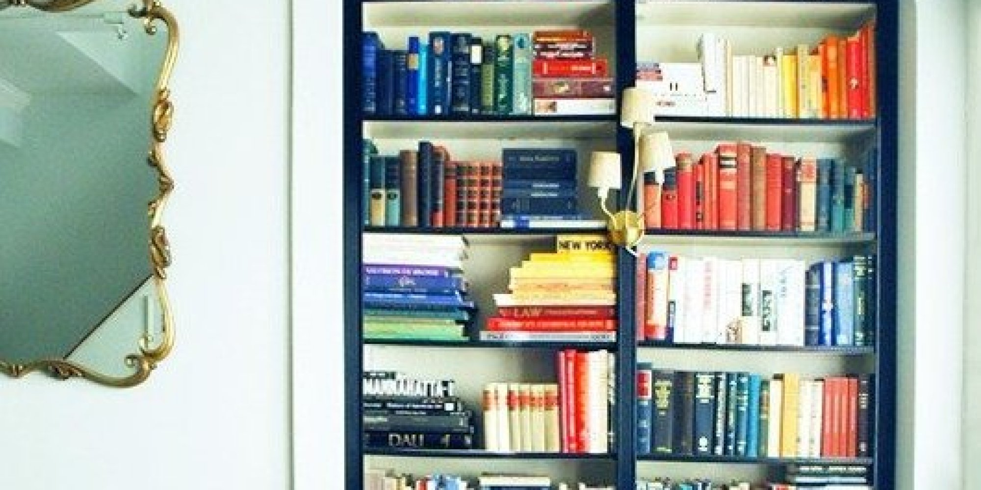 the best ikea hacks of 2013 will make you rethink that billy bookcase photos huffpost. Black Bedroom Furniture Sets. Home Design Ideas