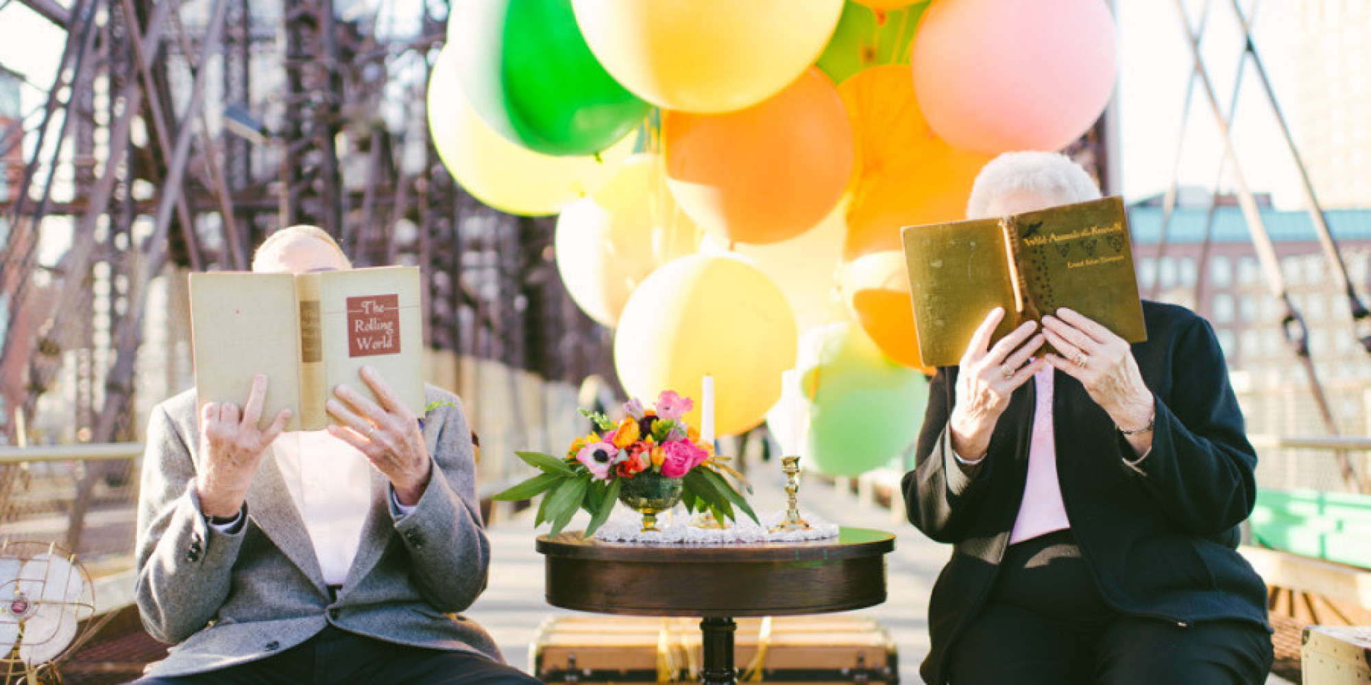 Elderly Couple S Themed Photo Shoot Will Convince You That