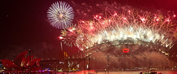 SYDNEY NEW YEARS EVE FIREWORK