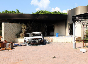 Benghazi September Compound Burned