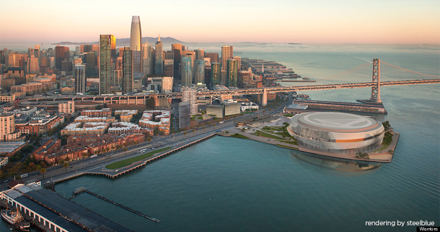 This is what san francisco could look like in 2033 huffpost for Dining near at t park