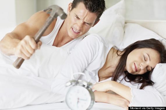 hammer alarm clock