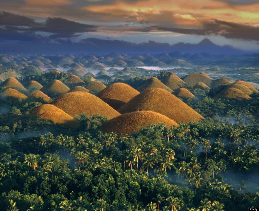 chocolate hills philippenes