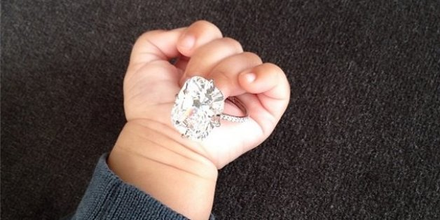Kim kardashian engagement ring huffpost junglespirit Images