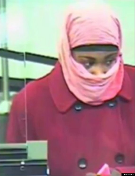 pink bank robber