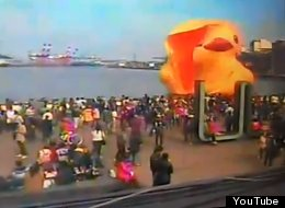 QUACK! QUACK! BOOM! Giant Inflatable Duck Explodes