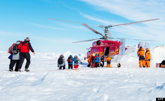 ship helicopter arctic