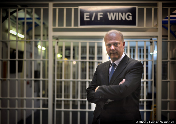 chris grayling prison