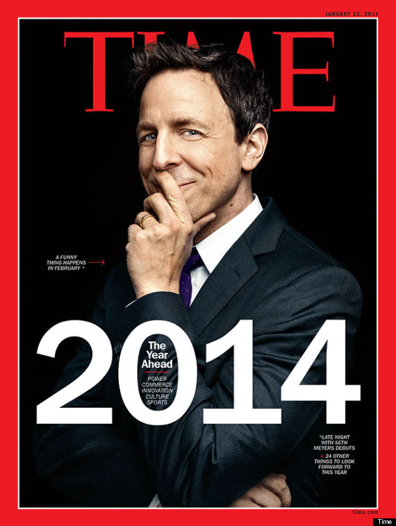 Seth Meyers Graces Time Magazine's First Cover Of 2014 ...