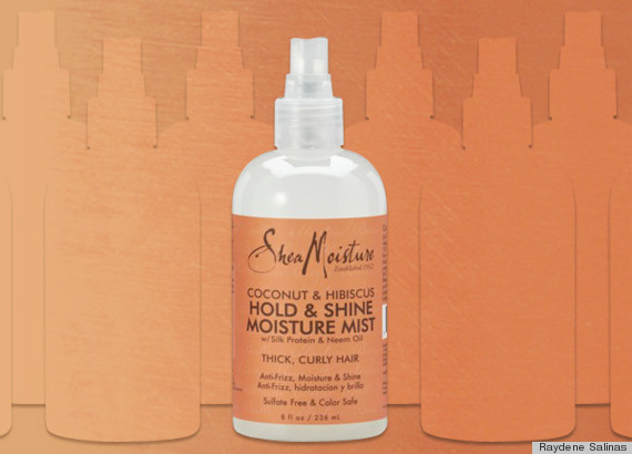 sheamoisture hold shine moisture mist