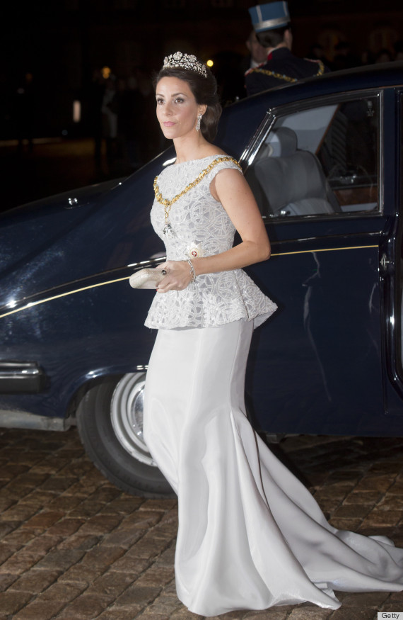 Princess Marie Of Denmark S New Year S Eve Dress Was