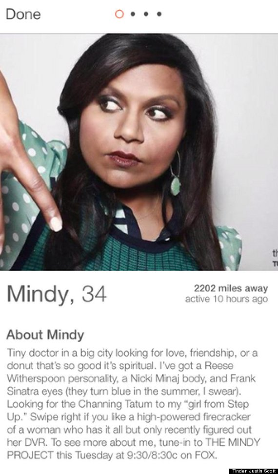 Funny male dating profile examples