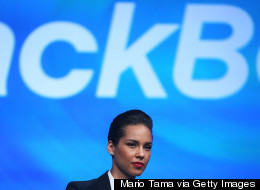 BlackBerry Waves Bye-Bye To Alicia Keys