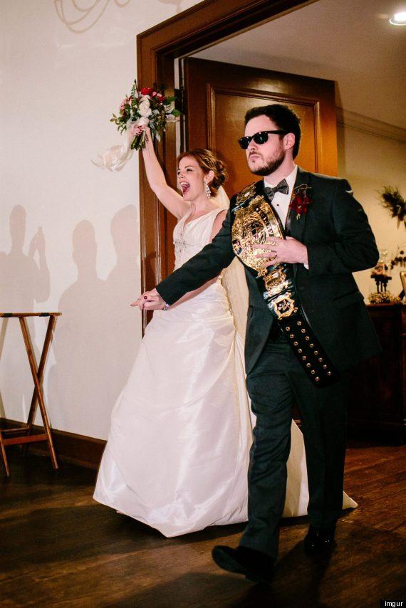 wrestling wedding 2