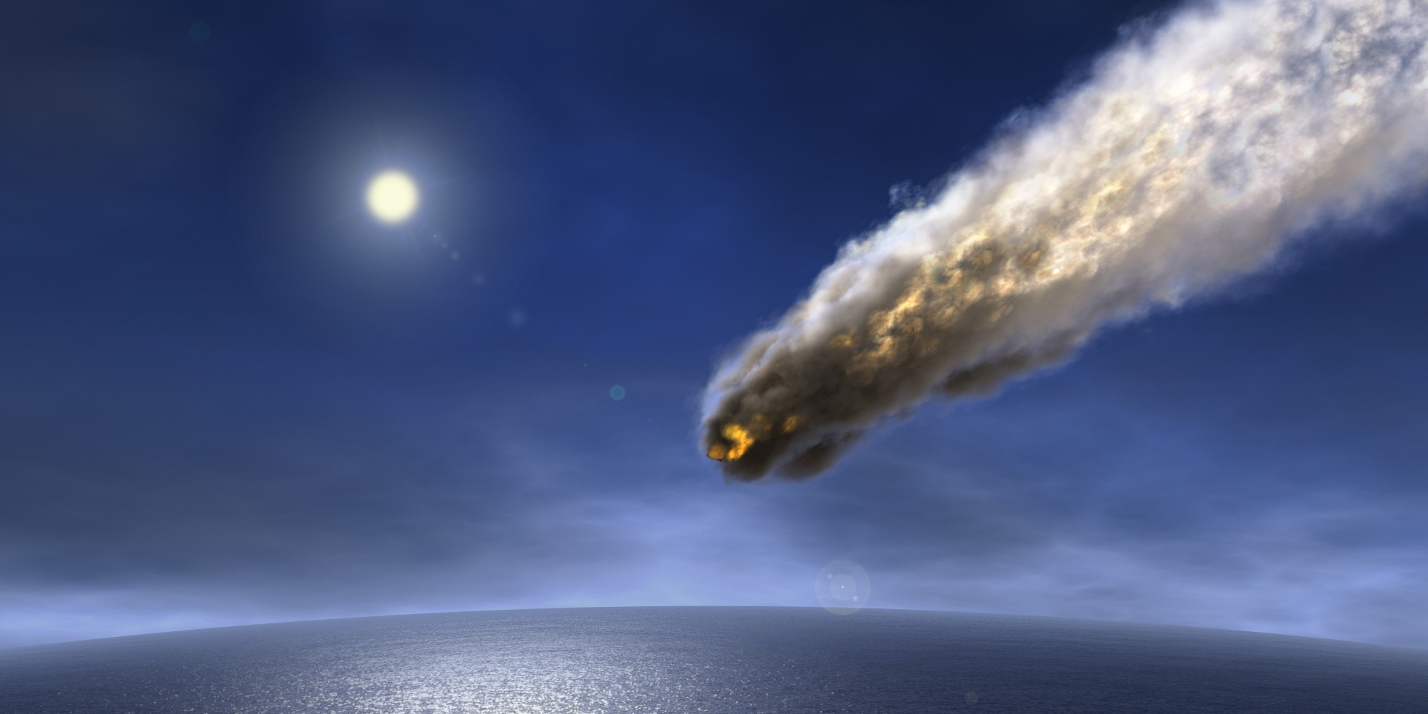 biggest asteroid ever to hit earth - photo #45
