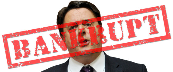 NICK GRIFFIN BANKRUPT