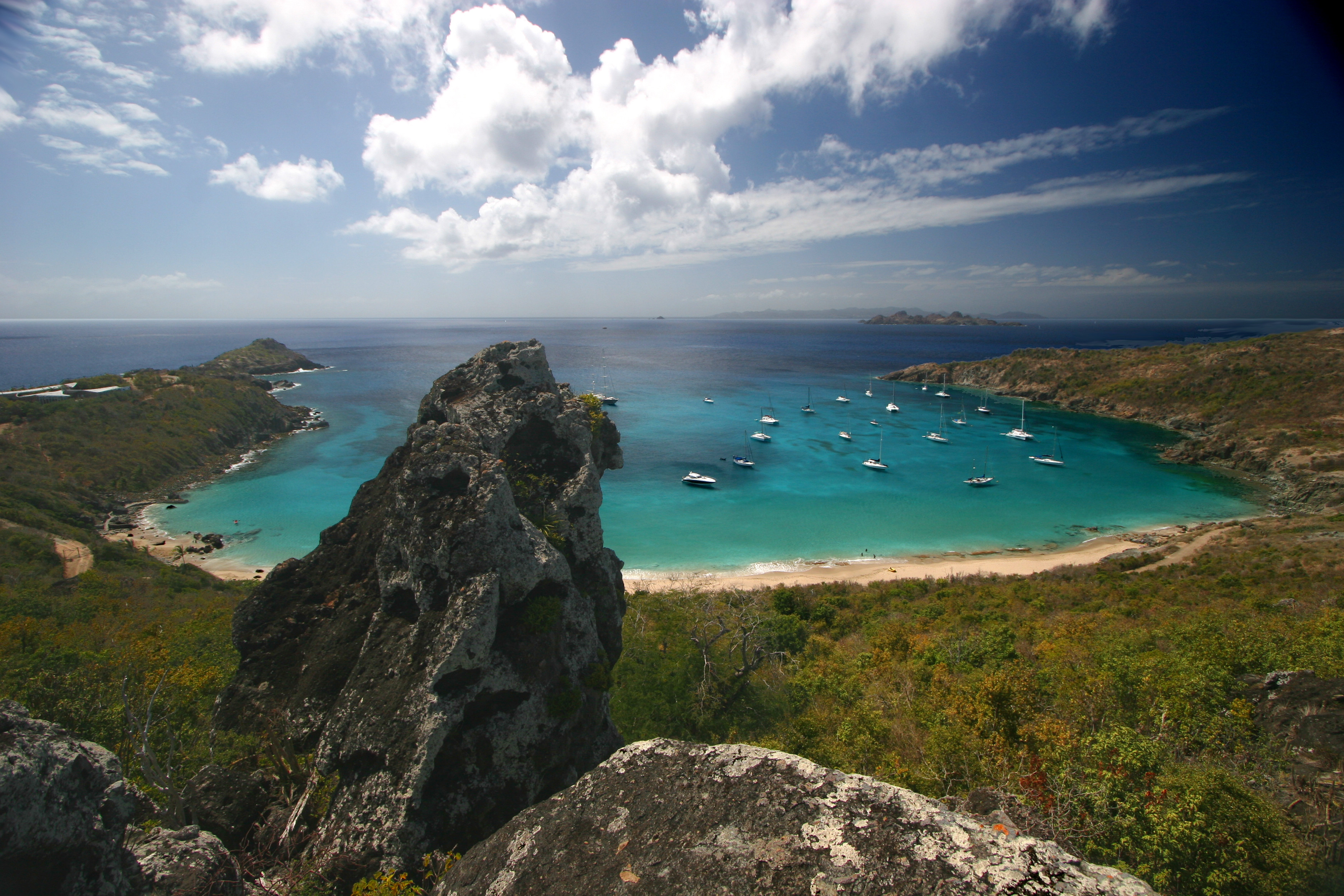 Best Island Beaches For Partying Mykonos St Barts: 10 Beaches Where Getting There Is Half The Fun