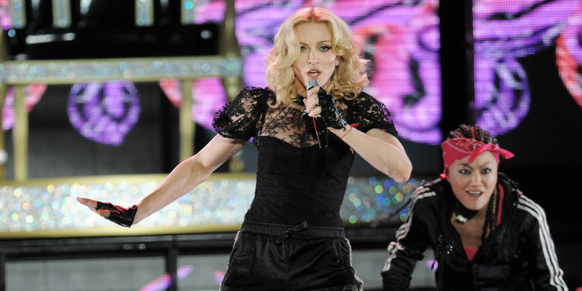 madonna at hard candy toronto singer to audition work out at fitness club. Black Bedroom Furniture Sets. Home Design Ideas