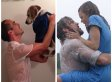 Guy Reenacts Romantic Movie Scenes... With A Dog