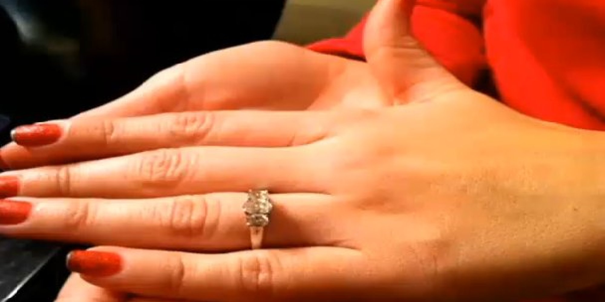 engagement ring back seat car n wonder woman wedding ring 6 Years Later Couple Finds Lost Engagement Ring In Back Seat Of Fraternity Brother s Car HuffPost