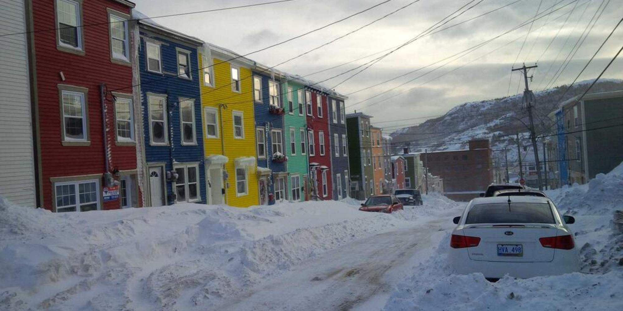 storm wallops newfoundland power outages across island. Black Bedroom Furniture Sets. Home Design Ideas