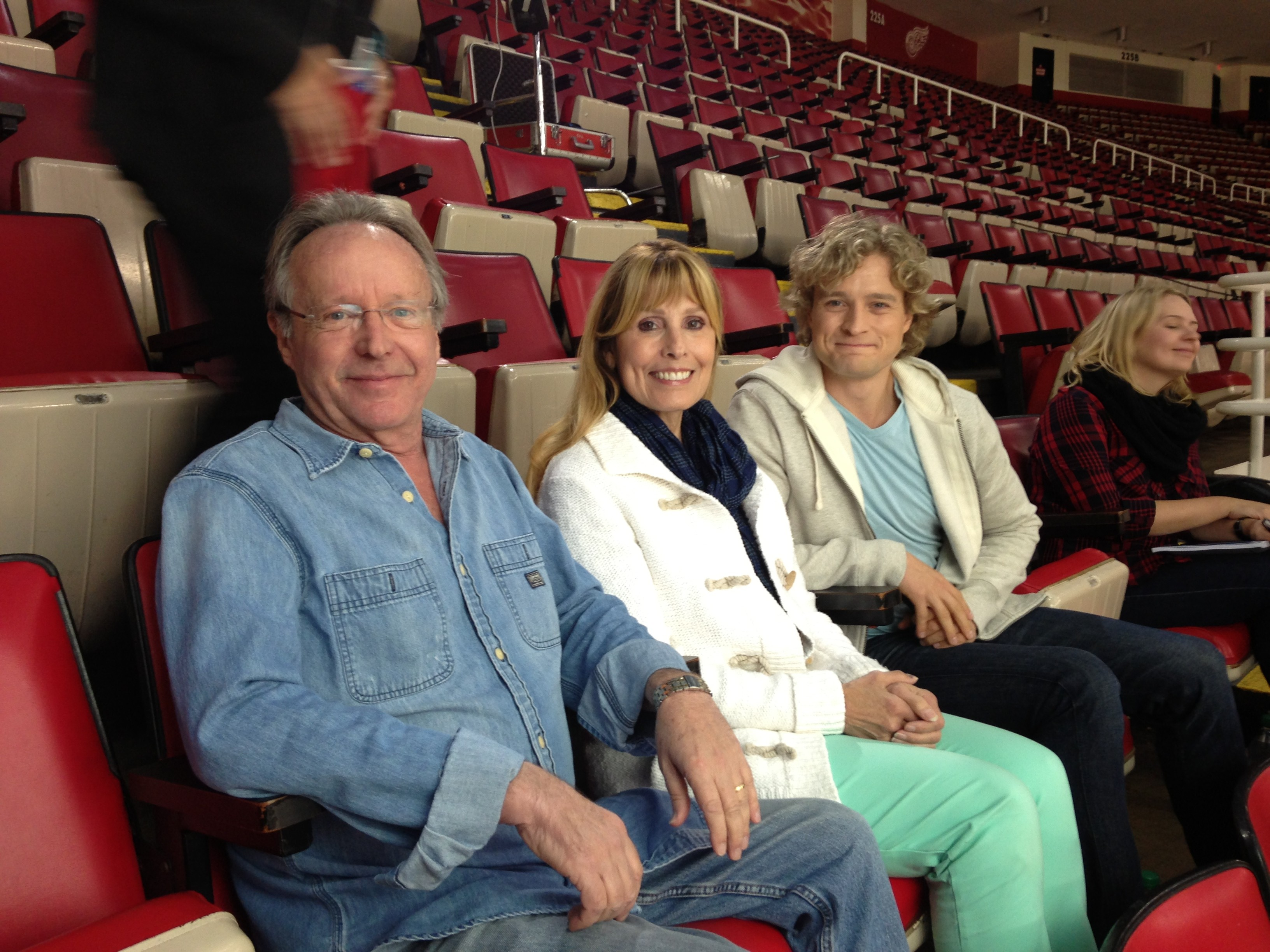charlie davis and parents