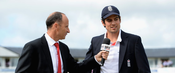 ALASTAIR COOK NASSER HUSSAIN