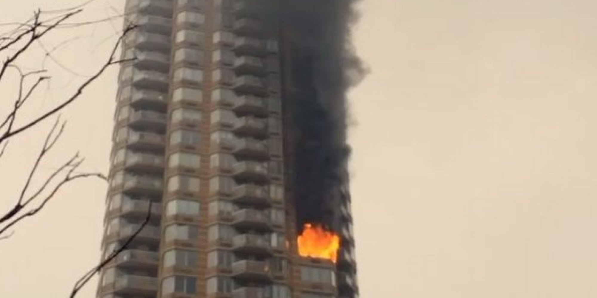 Manhattan High Rise Fire Has Reportedly Trapped People On