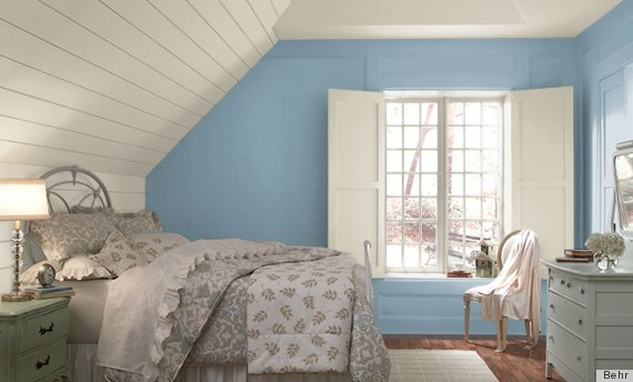 blue paint. The 6 Best Paint Colors That Work In Any Home   HuffPost