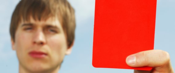 Lecturers Students Red Cards Laddish, Rowdy Behaviour