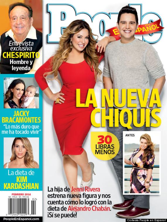Chiquis Rivera muestra su nueva figura en la portada de People en