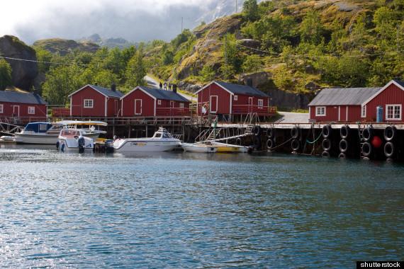 fishing cabin norway