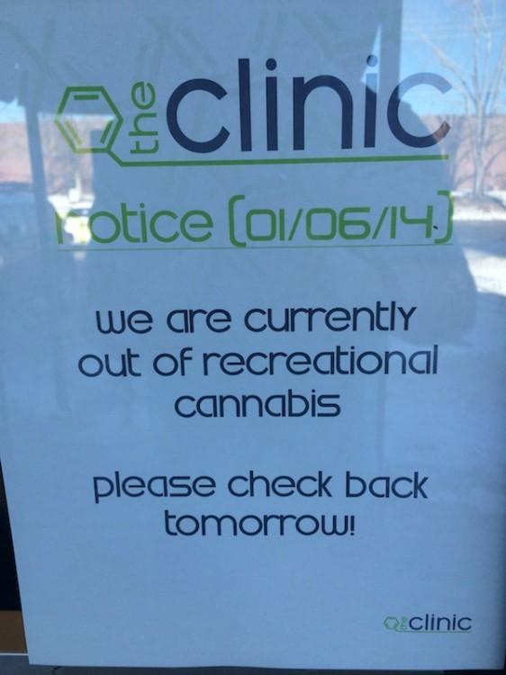 colorado marijuana shortage